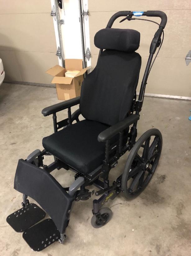 Stellar Tilt in Space Wheelchair