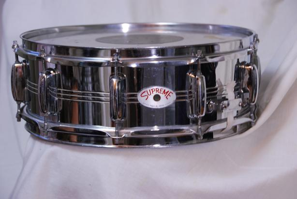 1960's STEEL SHELL SNARE DRUM BY TAMA / STAR