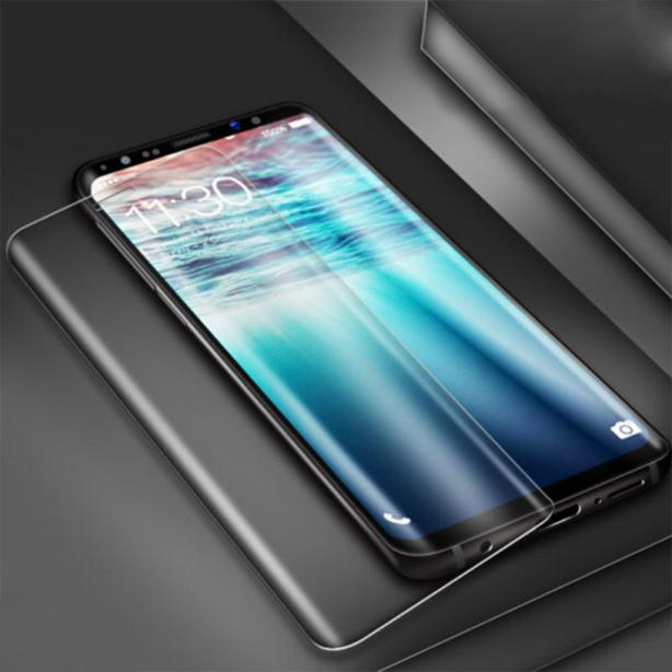 Full Coverage Curved Tempered Glass Screen Protector for Samsung Note 9