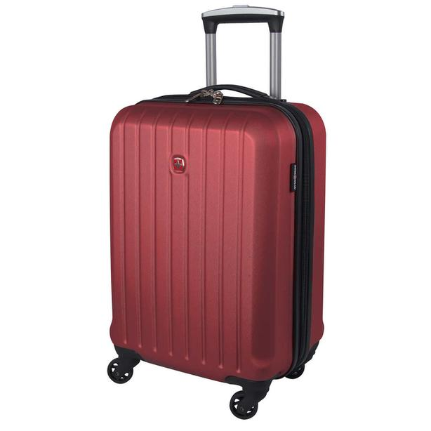 "SWISS GEAR Lucerne Lite 26"" Hardside Expandable Spinner Wheel Suitcase - Red"