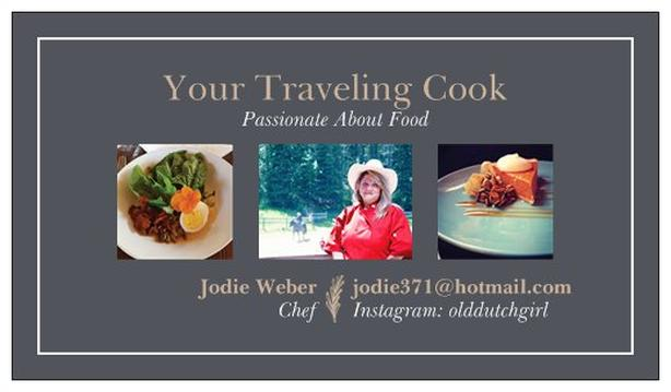 Travelling Cook