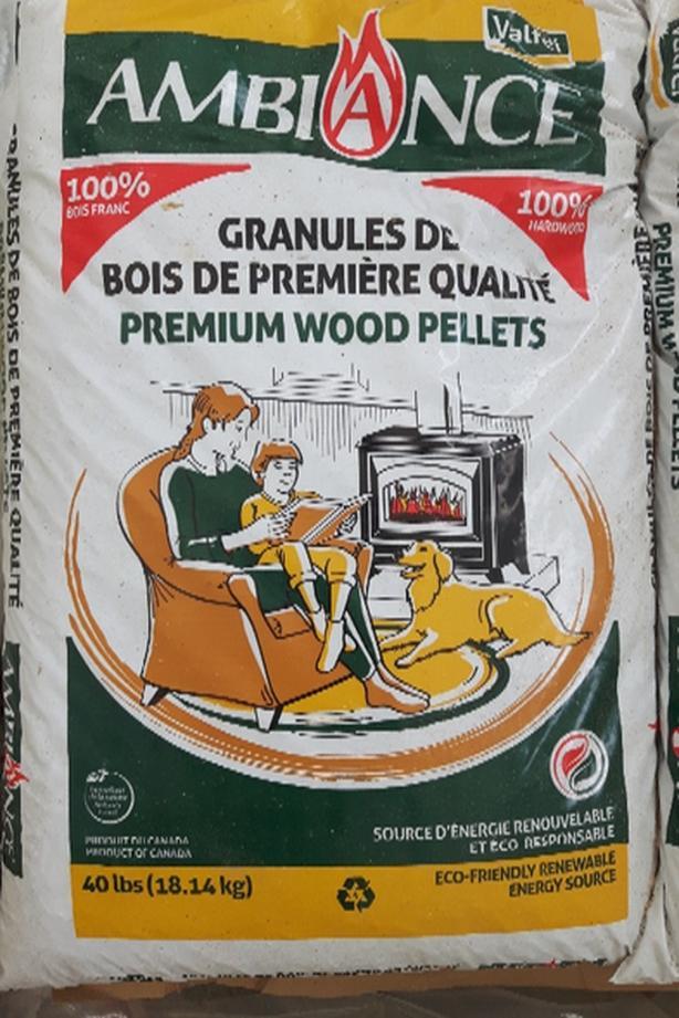 Hardwood Firewood Wood Pellets - Pellet stove