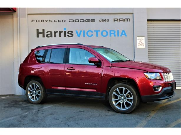 2014 Jeep Compass Limited Low Mileage Outside Cowichan Valley Cowichan