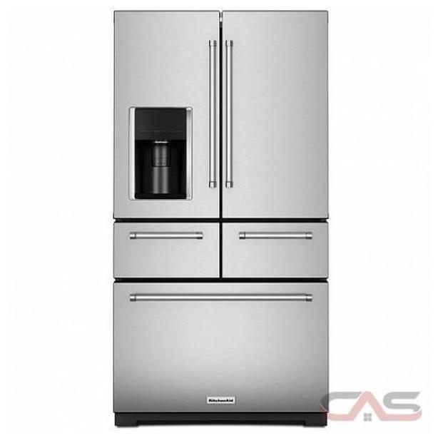 KitchenAid 36 inch 25.8 cu. Ft. Multi-door Refrigerator