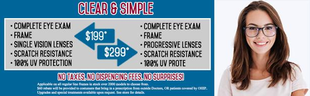 Eye Exam for $80 by a Licensed Optometrist