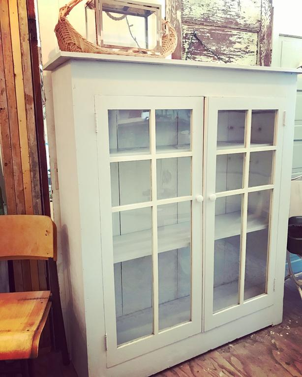 Old Glass Door Cabinet Malahat Including Shawnigan Lake Mill Bay