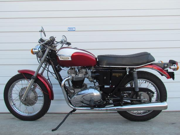 1971 T120r Classic Motorcycle Currently For Sale 10995 Zero Miles
