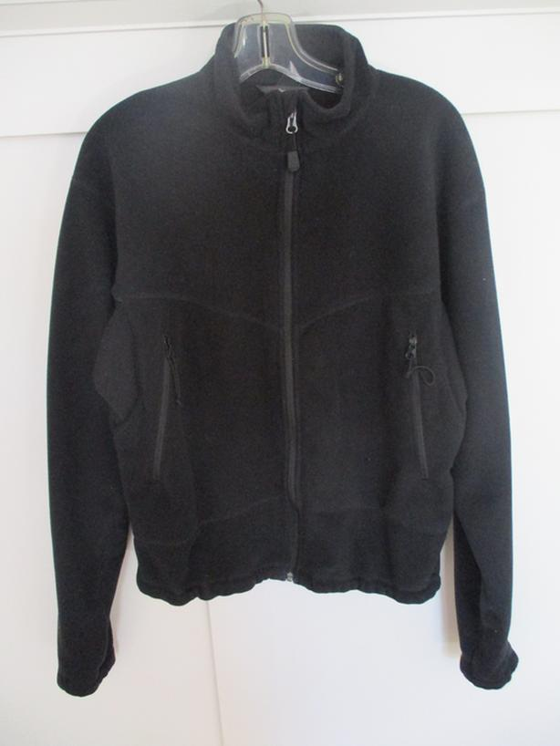 NEW - MEC MEN'S FLEECE BLACK BOMBER JACKET