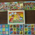 ABC DACHSUNDS & CHILDREN WOOD PUZZLE - $5