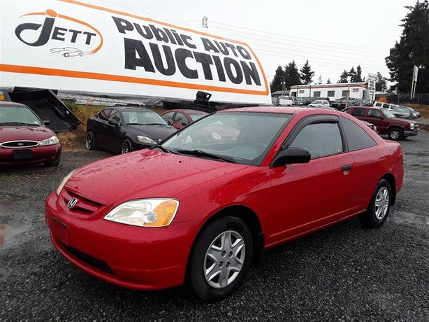 2003 Honda Civic DX 4 Cyl FWD Clean Loaded 5 Seater! Great Looking Car!