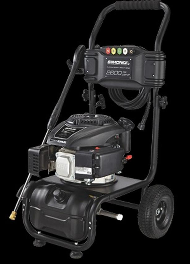 Almost New Simmonz 2600 PSI pressure washer