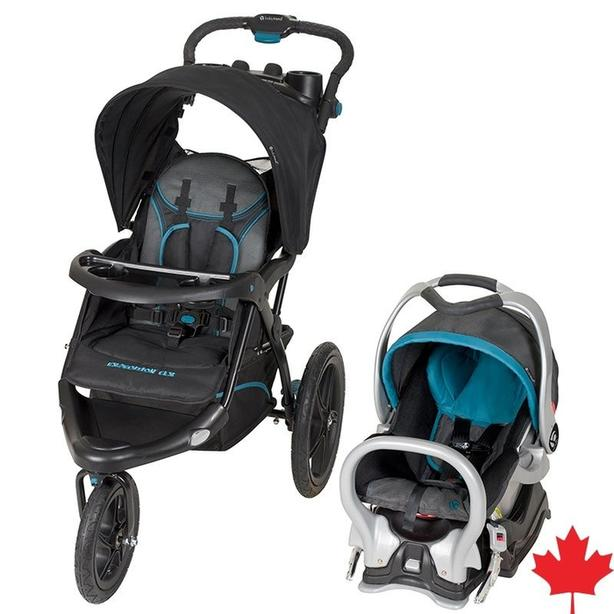 Car seat with jogging stroller babytrend