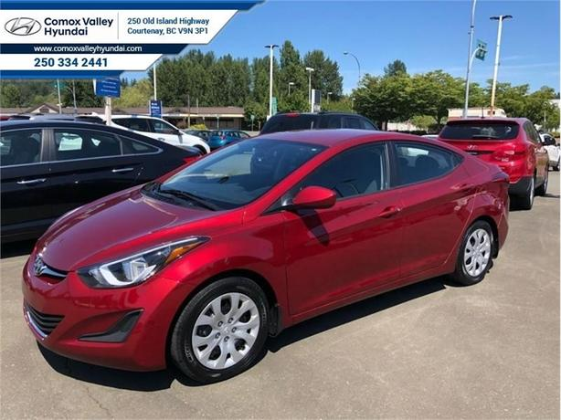 2016 Hyundai Elantra GL  - one owner - local - trade-in
