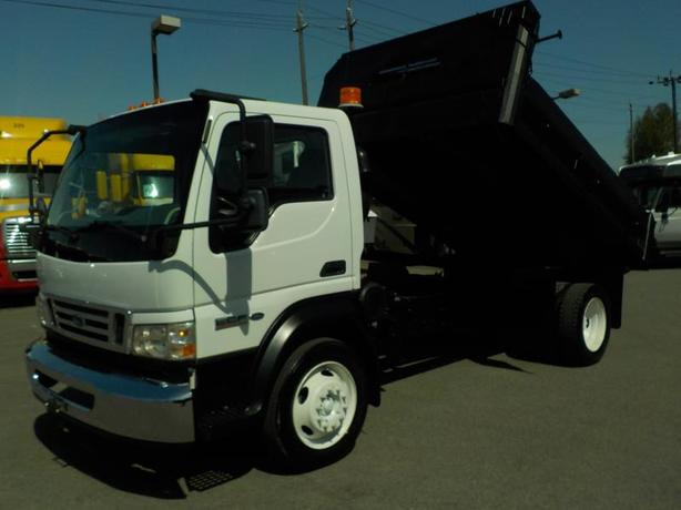 2008 Ford LCF 550 Regular Cab Dually 2WD Diesel with Dump Box