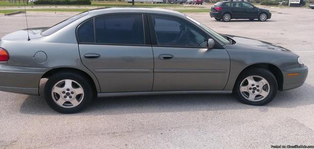 Chevrolet Malibu for sale comes with extra tires on rims
