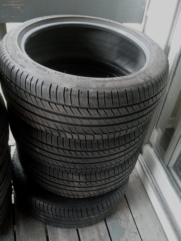 Like New Set of 4 Michelin 215 45 17 (21545R17 or 215/45R17) Tires - $700 FIRM