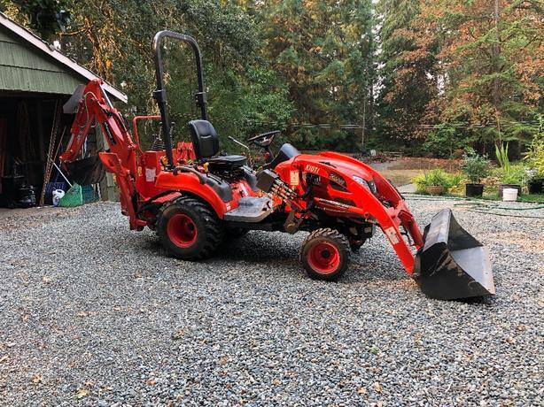 2015 Kioti tractor