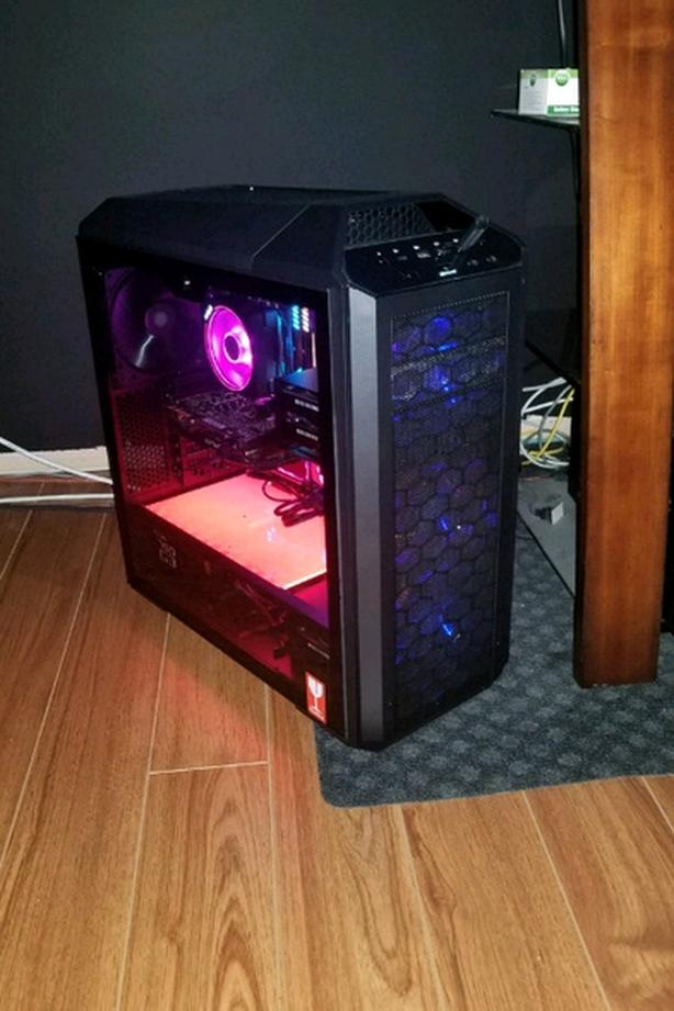 Newly built Kraken cooled Ryzen 7 2700X Gaming system $1900OBO