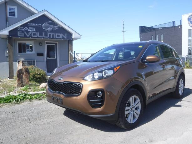 2017 Kia Sportage LX AWD, LOADED MINT, CERTIFIED+WRTY $20900
