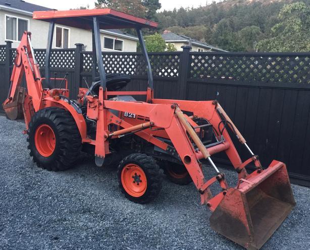  Log In needed $19,500 · Kubota B21 Tractor Loader Backhoe