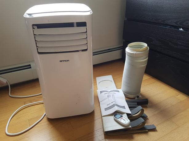 Portable 3-in-1 Air Conditioner - 8,000 BTU Model # MPPH08