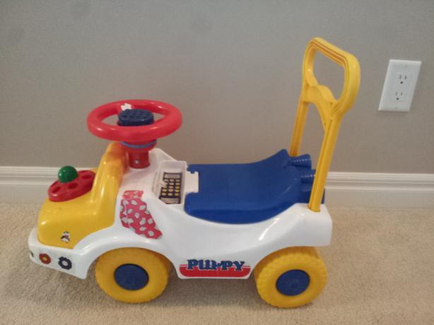 FREE: Sama Puppy car ride toy
