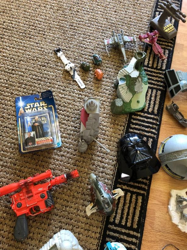 OBO - Mixed Star Wars Lot - Mostly 1995