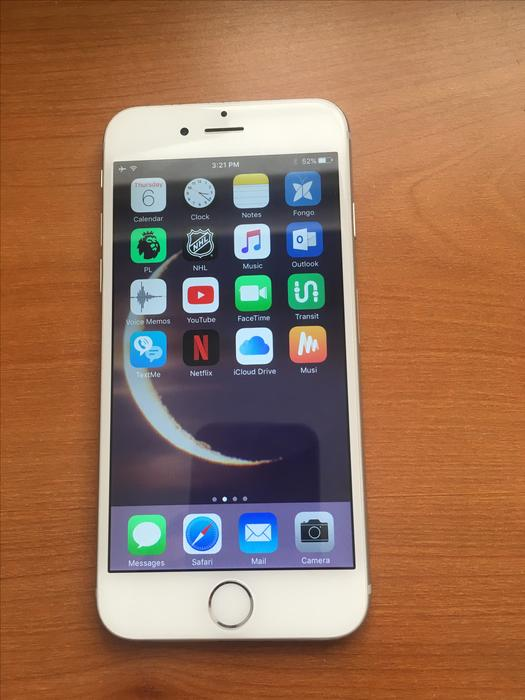 $280 · **Great Condition Silver iPhone 6 Still on iOS 10!