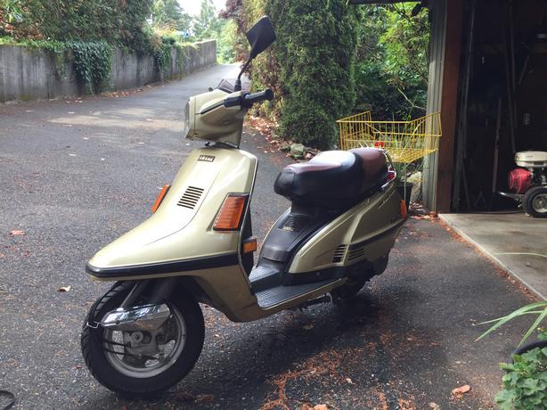 Yamaha Riva 180cc