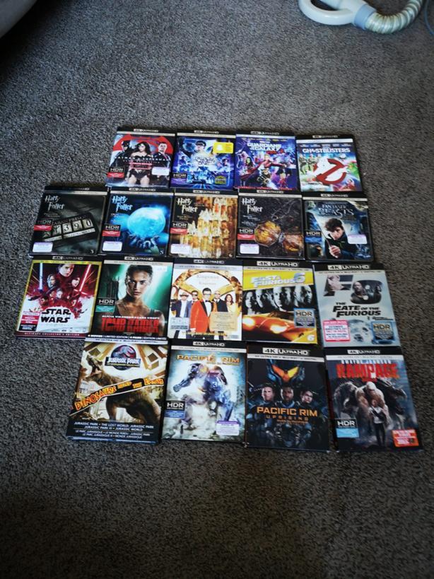 4K Ultra HD Blu-ray. Dvds