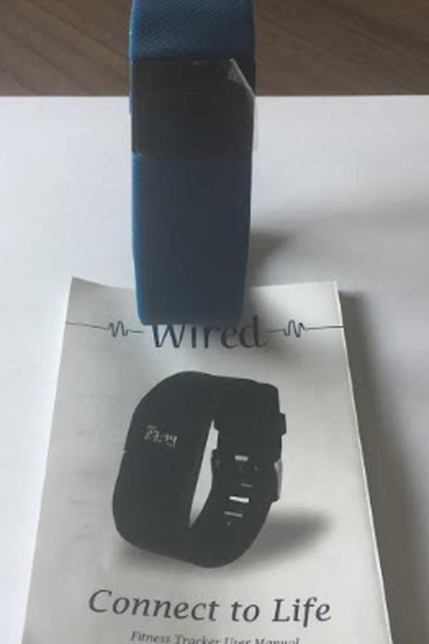 Fitness Tracker - Navy Blue Watch - Never Used