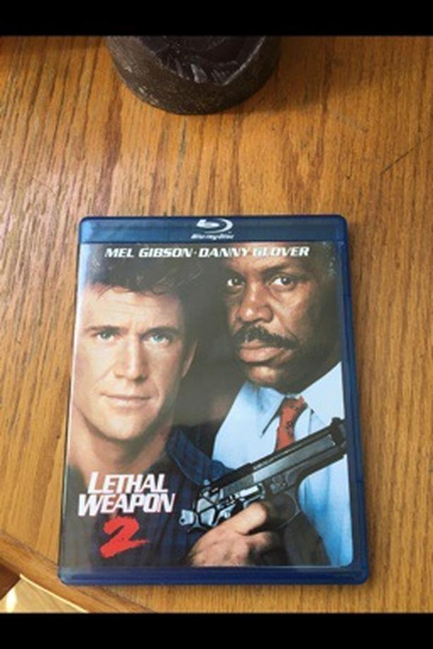 Lethal Weapon 2 Bluray