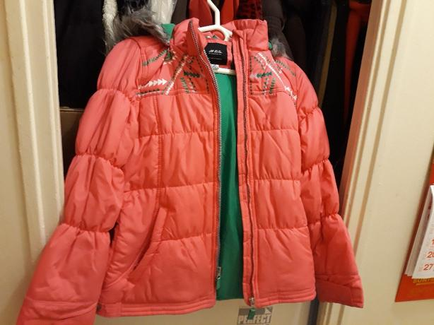 London Fog girl winter jacket size 14