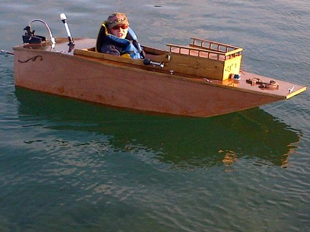 Home Made Boat