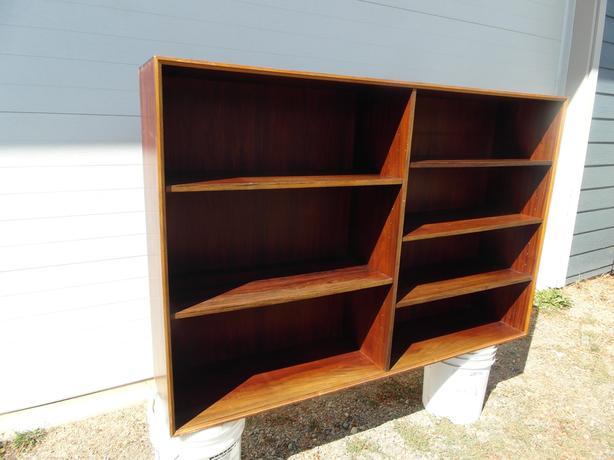 7 shelf book/display case- N. Duncan