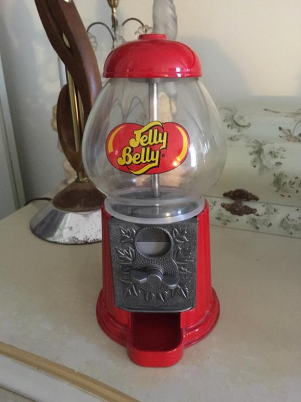 Cast iron And Glass Jelly Belly Candy Machine