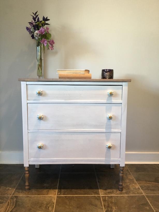 vintage dresser- refinished
