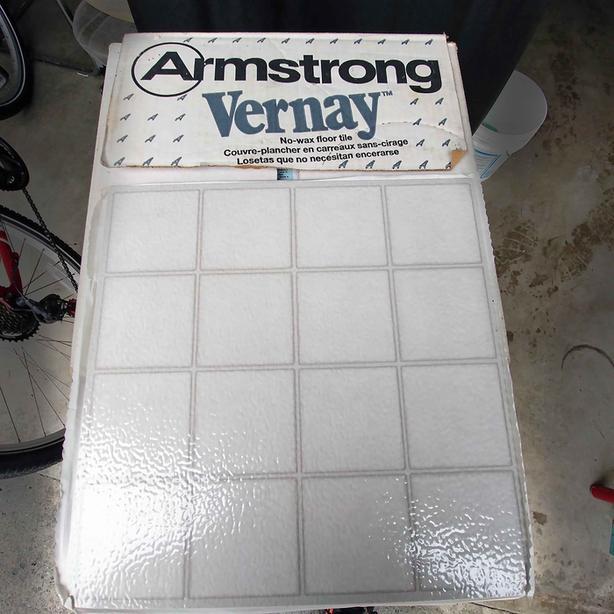 Armstrong Peel & Stick Vinyl Non-Wax Flooring