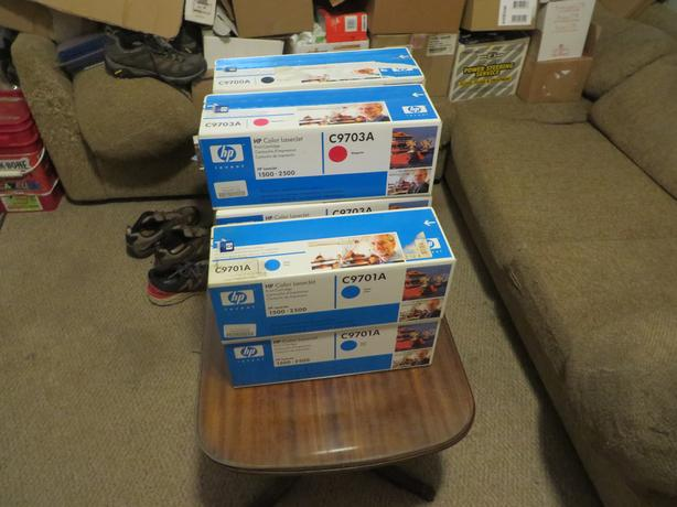 Lot of 8 Hp C9700A Print Cartridges - new in the box old stock