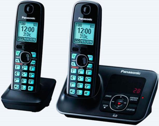 Panasonic KX-TG4131C Cordless Phone with answering System + 2 HS