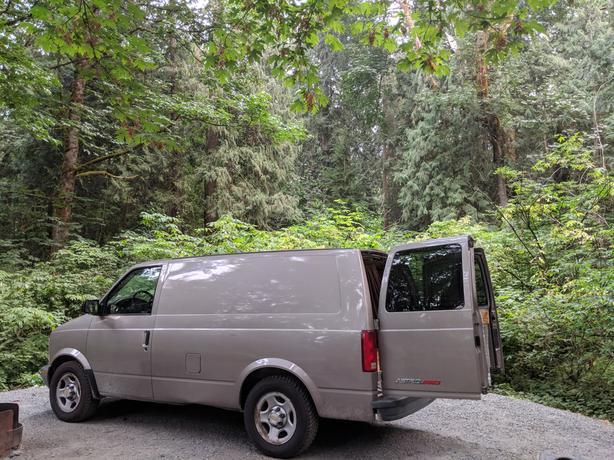 2003 Chevy Astro AWD Cargo van/ Campervan conversion