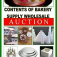 CALLING ALL BAKERS - BAKERY WHOLESALE SUPPLIES ON THE AUCTION BLOCK