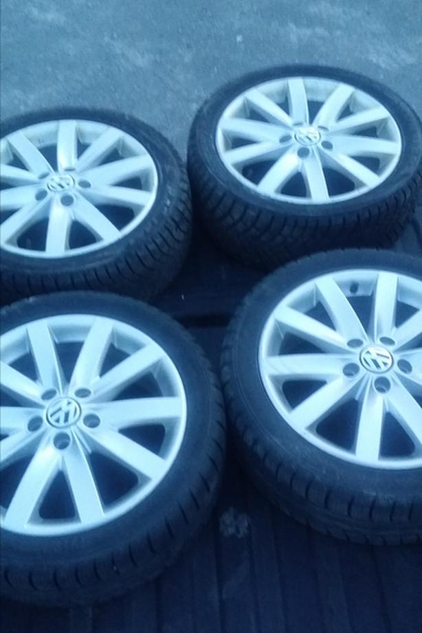 VW Roof Racks/Rims and Tires