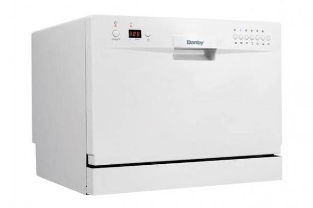 Gently used Danby Counter-Top Dishwasher