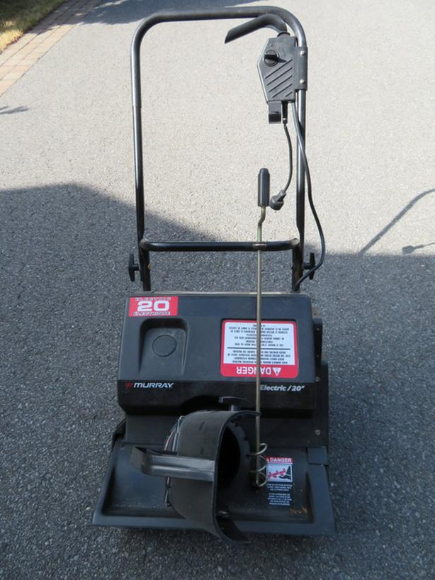 SNOW THROWER 20' 13A MURRAY electrical.