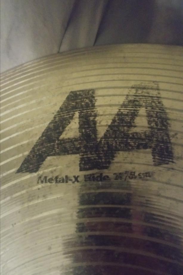 "Sabian AA 24"" Metal-X Ride"