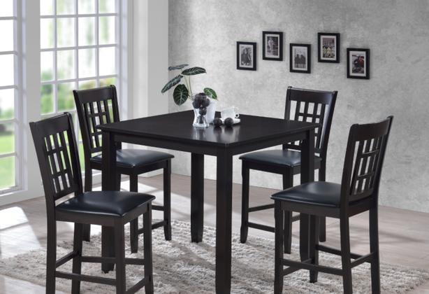 Hardwood Counter Height Dining Set New