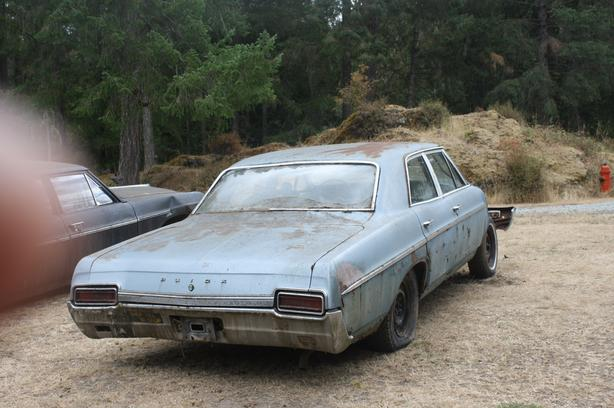 1967 BUICK SPECIAL – 4 Door – PARTS ONLY CAR Outside Alberni
