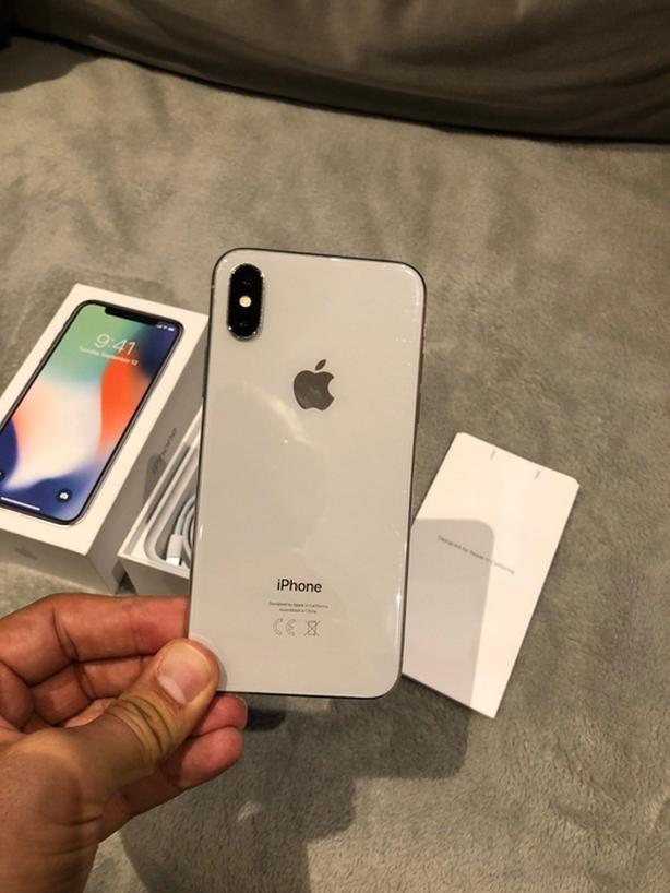 Apple iPhone X 256GB Under Warranty....