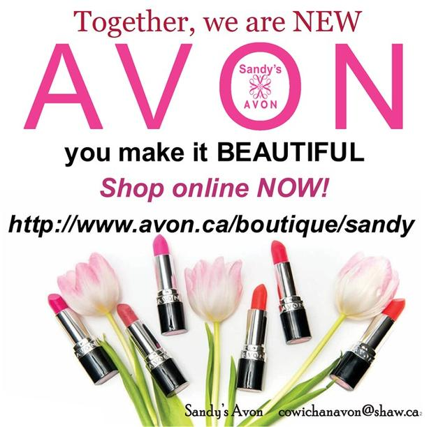 Shop on line with Avon estore